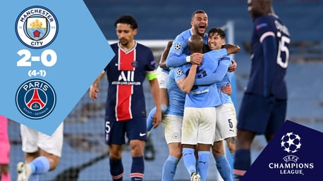 City 2-0 PSG: Full-match replay