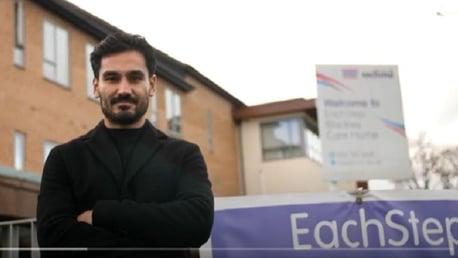 Gundogan reveals pride at Integrated Care ambassadorship