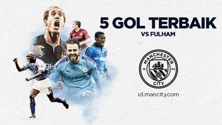5 Gol Terbaik vs Fulham