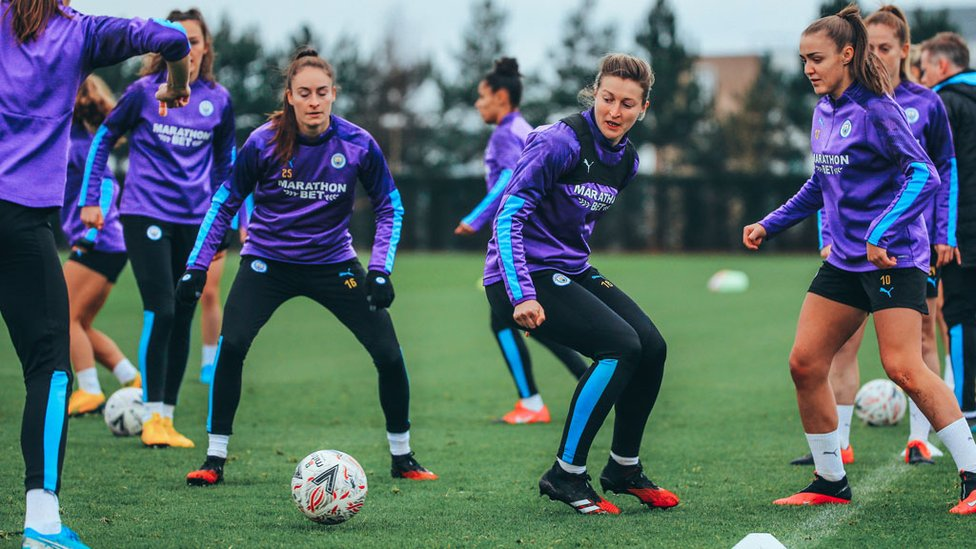 WHITE MAGIC : Ellen White is targeting her first Manchester Derby appearance