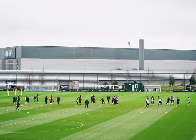 ภาพรวม : ภาพมุมสูงจากศูนย์ฝึก CITY FOOTBALL ACADEMY