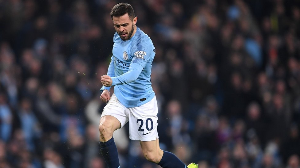 GAME-CHANGER : Bernardo won a penalty moments after coming on as a sub