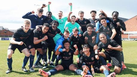 City's Under-18 Premier League North title is just reward, says proud Vicens