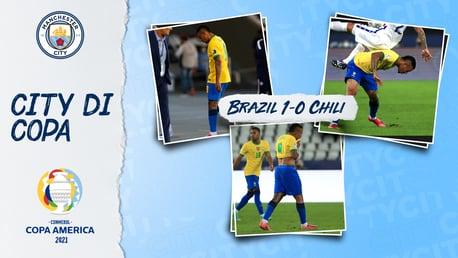 Gabriel Jesus Mendapatkan Kartu Merah Saat Brasil Membukukan Tempat di Semifinal Copa Amerika