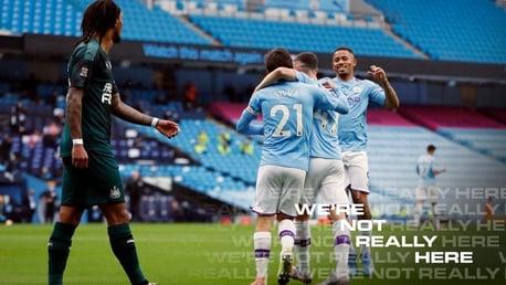 City goleia o Newcastle em atuação impressionante