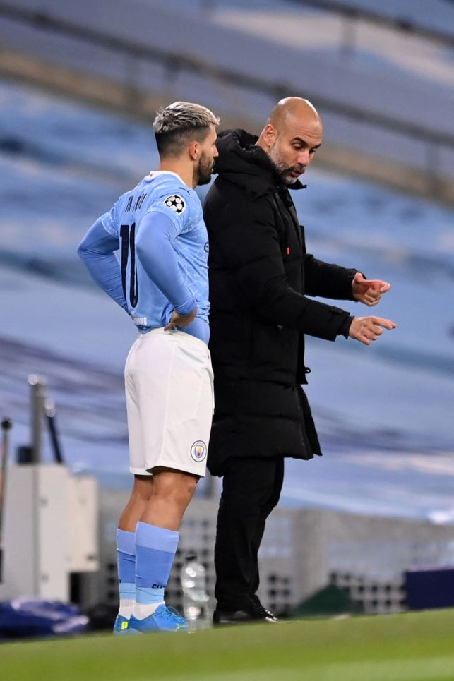 BRIEFING  : Pep gives Sergio his final instruction ahead of his return
