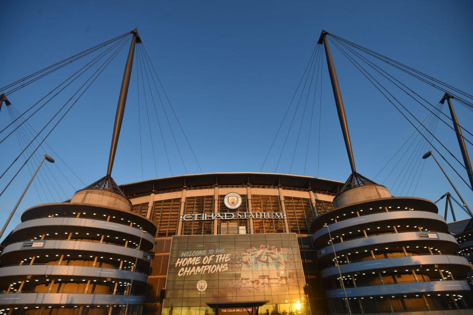 HOME: The Etihad Stadium