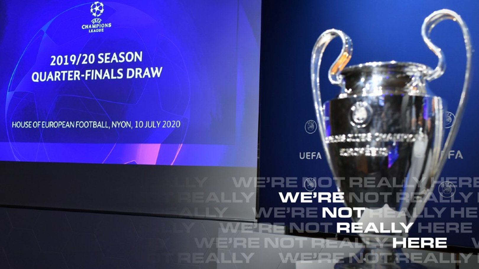 Champions League final eight draw explained