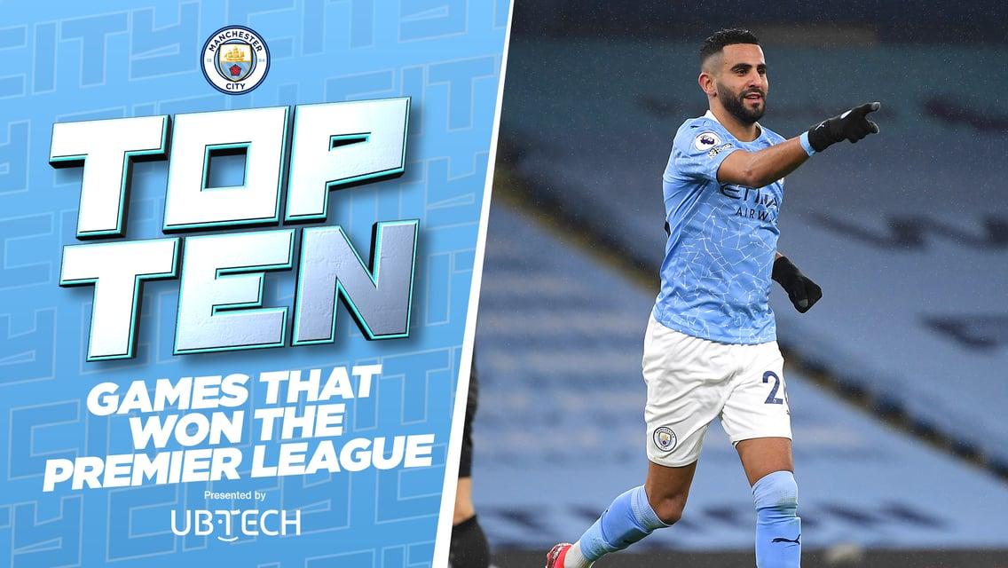 The Top 10 games that won the Premier League