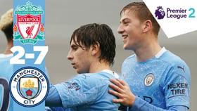 Highlights: Liverpool U23s 2-7 City EDS