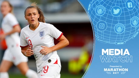 SUPER STANNERS: Georgia Stanway netted yet another worldie in England's friendly against Norway