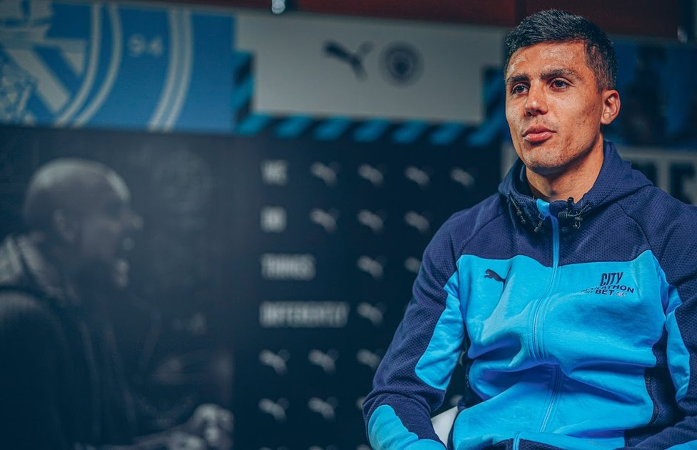 TRUE BLUE: Rodri is set to be a pivotal figure once again when we get underway for the 2021/22 season