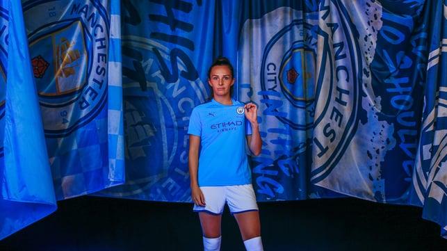 WEIR WE GO : Caroline Weir says that games don't come bigger than Saturday's derby encounter