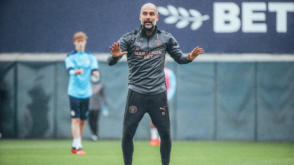 Pep spells it out...