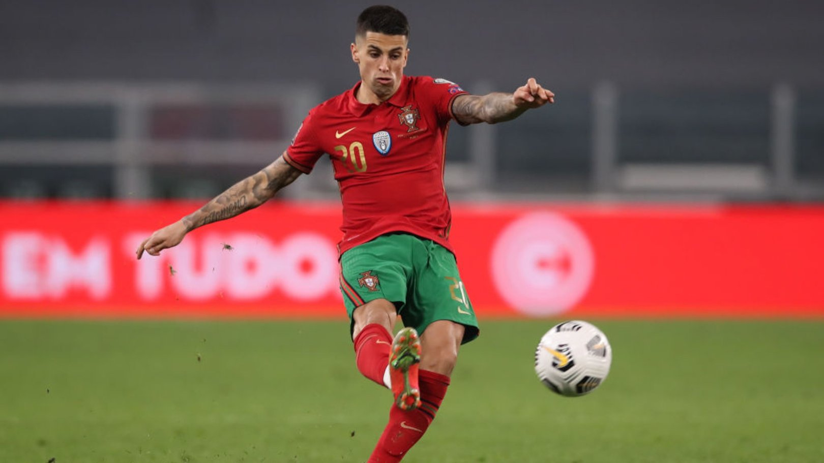 Cancelo scores as City trio help Portugal to Euro 2020 warmup win