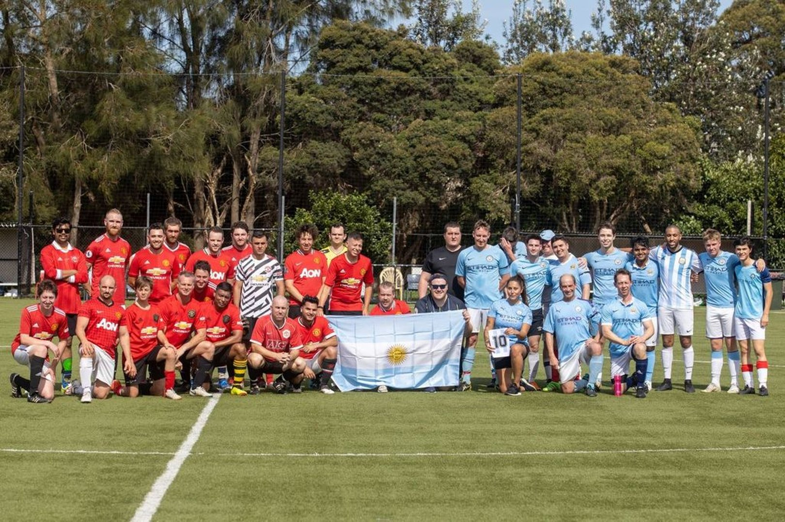 Sydney's City and United OSCs join forces for charity