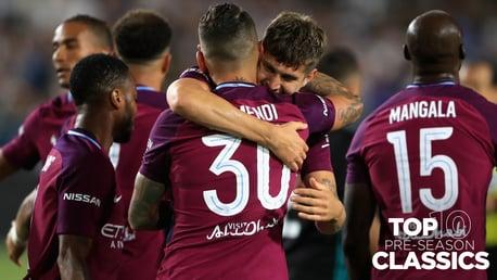 프리시즌 클래식 하이라이트 | 레알 마드리드 1-4 CITY (2017)