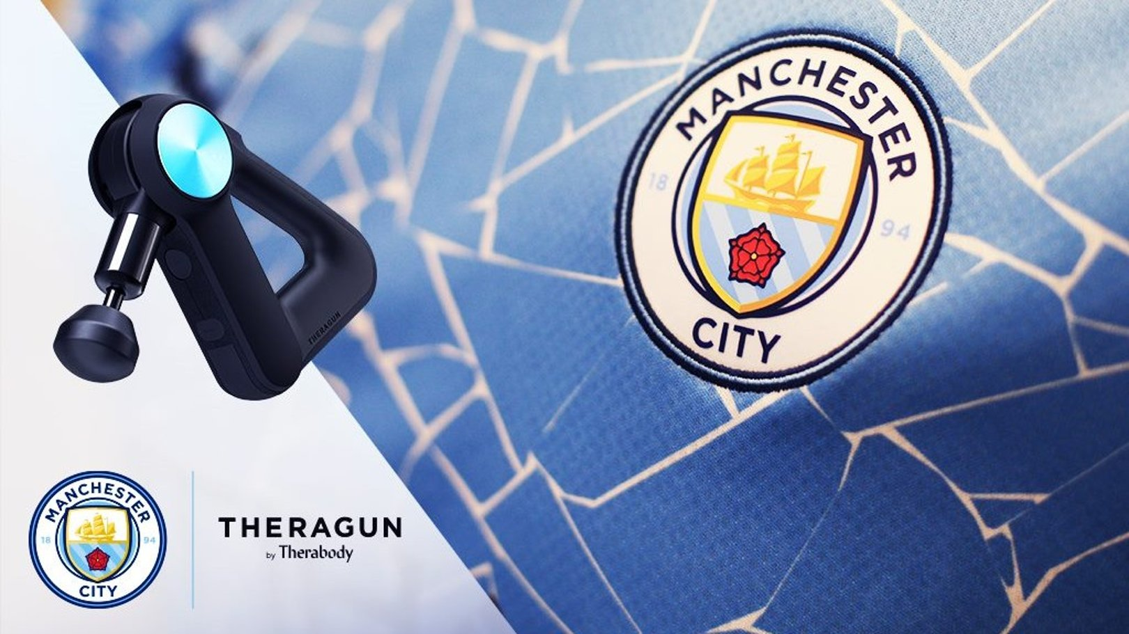 Man City and Therabody Kickoff Global Partnership