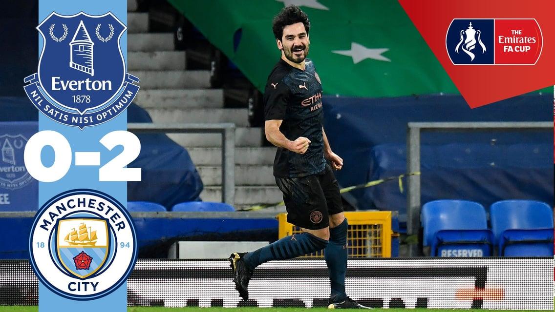 Everton 0-2 City: resumen