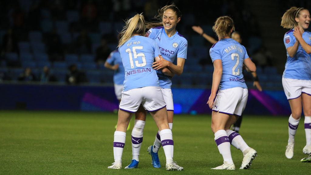 GOAL JANINE : Janine Beckie scored her fifth goal of the season