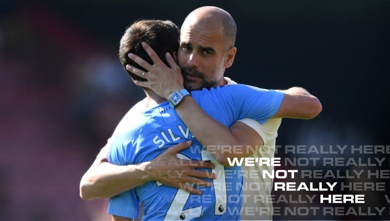 Guardiola salutes Silva after man-of-the-match display