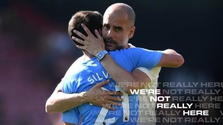"""Pep: """"Silva es increíble"""""""
