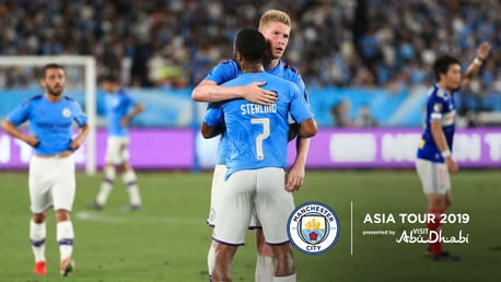 Yokohama v City: Extended highlights