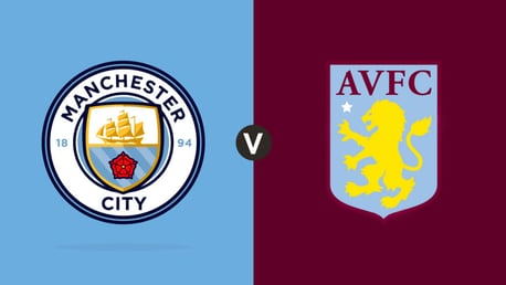 City v Villa: MATCH DAY LIVE
