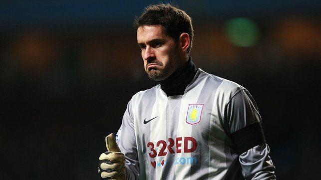 VILLA : The 'keeper helped Aston Villa to a 6th place finish in the Premier League in 07-08