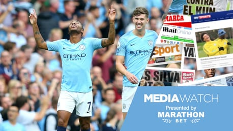 ALL FIRED UP: John Stones has backed Raheem Sterling to shine for England