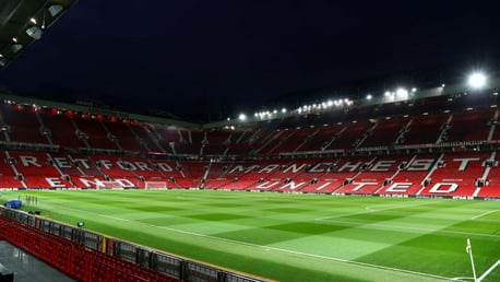 DERBY DAY: City travel to Old Trafford in the first leg of the Carabao Cup semi-final.