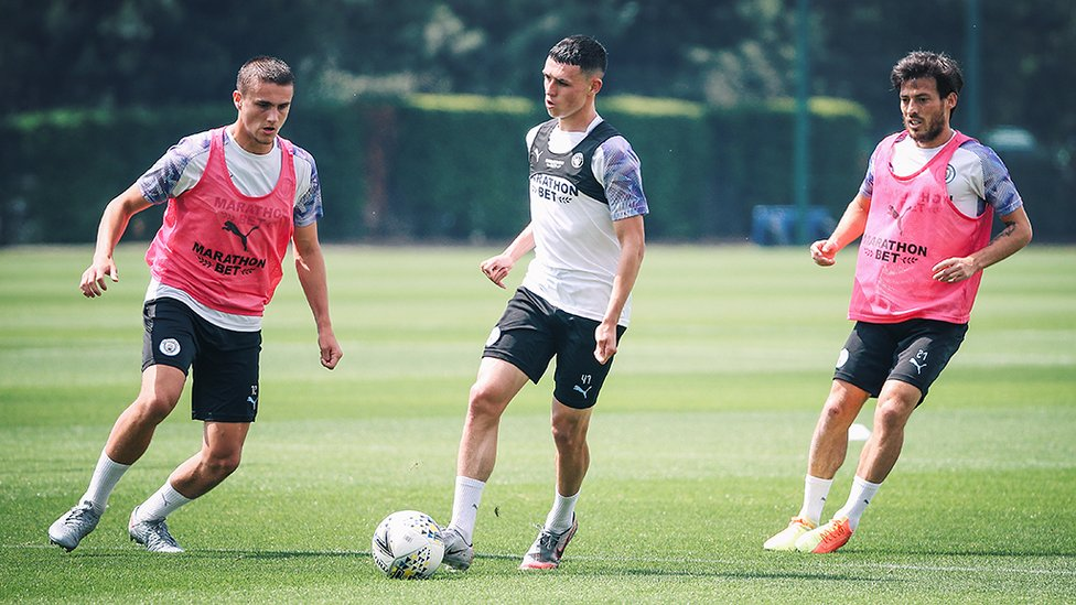 ONE OF OUR OWN : Phil Foden will look to continue his fine form