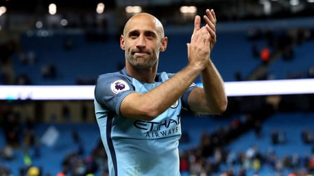 Zaba: I never expected to stay at City so long!