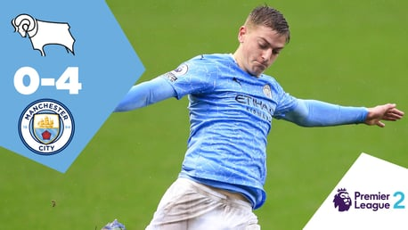 Full-match replay: Derby U-23s 0-4 City EDS