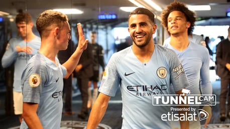 TUNNEL CAM: Behind-the-scenes at City v Burnley...