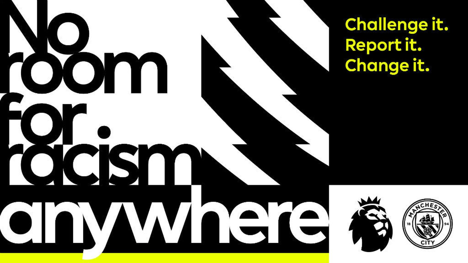 City support latest No Room for Racism drive