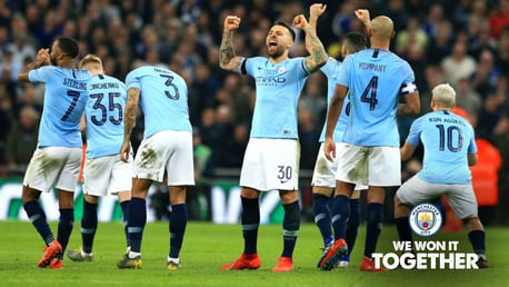CUP SUCCESS: City have won two trophies in the same weekend