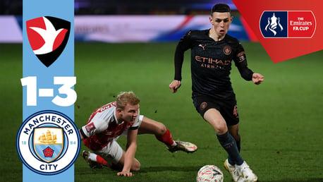 Cheltenham 1-3 City: Match highlights
