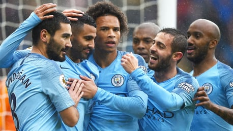 BRACE: Mahrez spoke to CityTV after his double at Cardiff