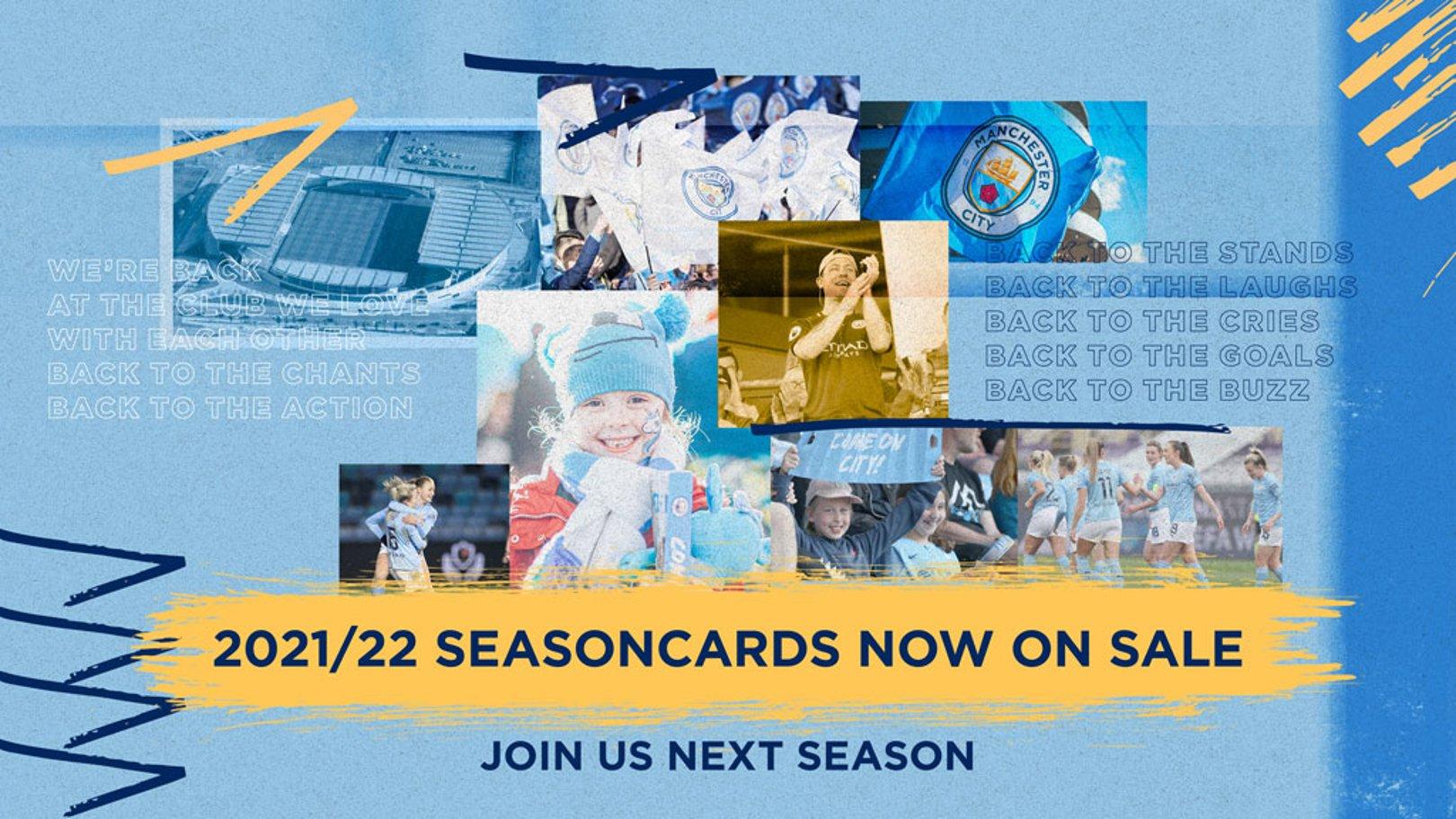Manchester City Women: 2021/22 Seasoncard Information