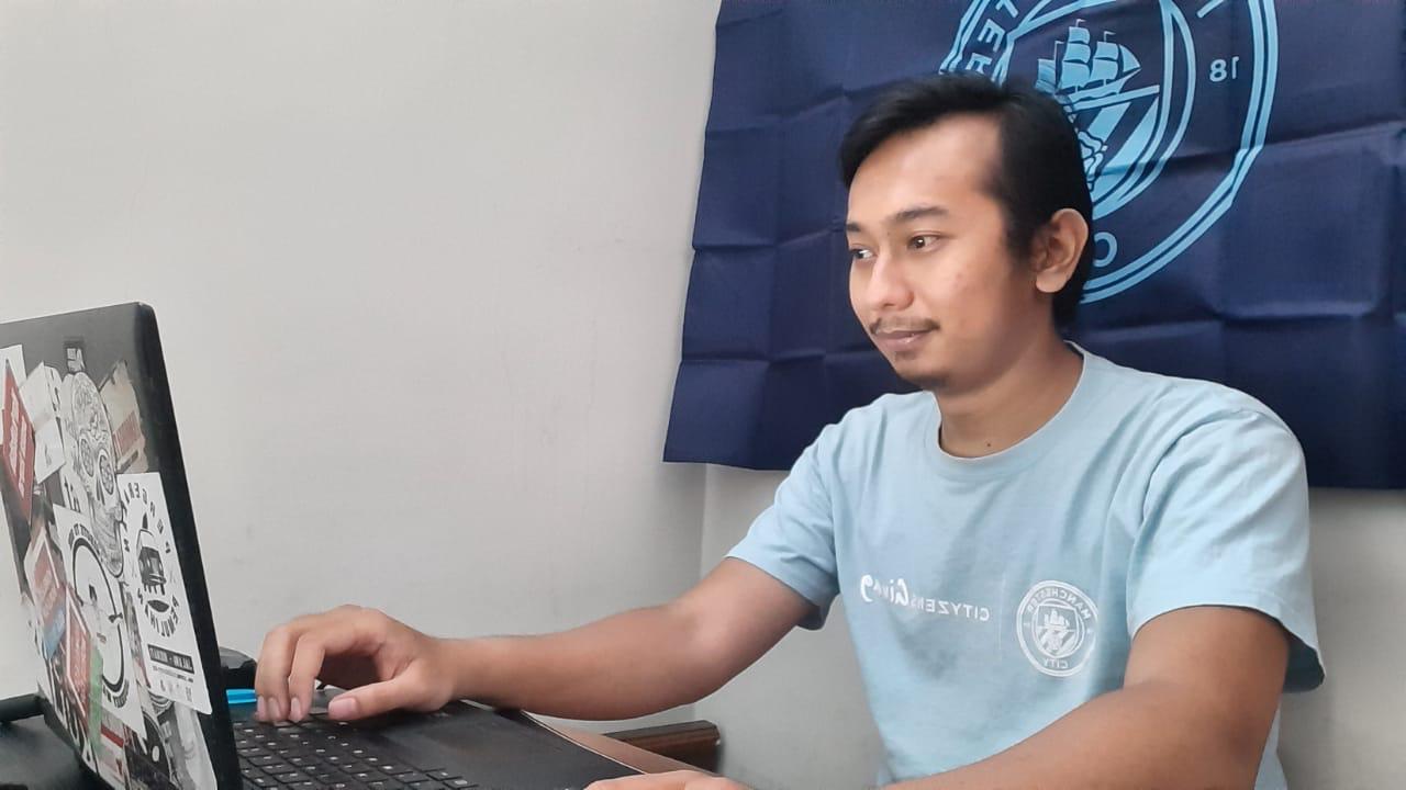 Iqbal, Young Leader asal Bandung mengikuti pelatihan daring