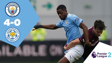 Full Match Replay: City EDS 4-0 Leicester