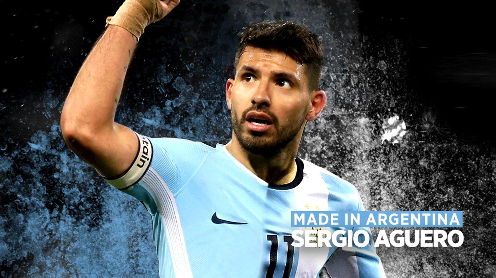 Sergio Aguero: Made in Argentina