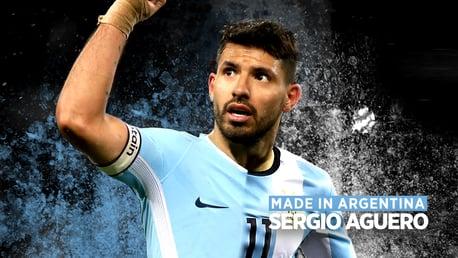 เซอร์กิโอ้ อเกวโร่: Made in Argentina