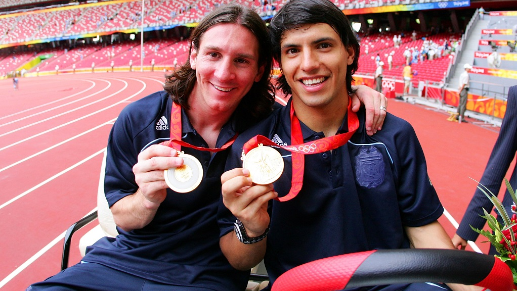 2008 : Olympic gold medallists for Argentina in Beijing