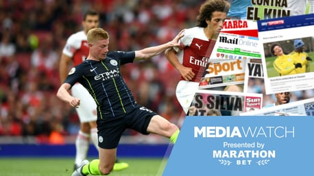 MEDIA WATCH: City are hailed as title contenders in today's papers
