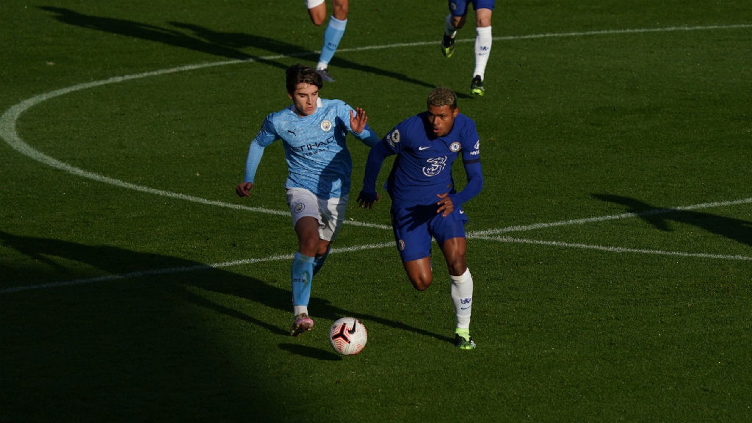 FORWARD MARCH: Adrian Bernabe looks to get City's EDS on the front foot against Chelsea Under-23s