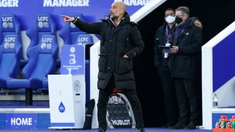 THE BOSS: Guardiola!