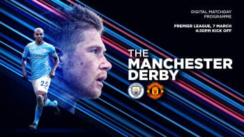 City v United: FREE digital matchday programme
