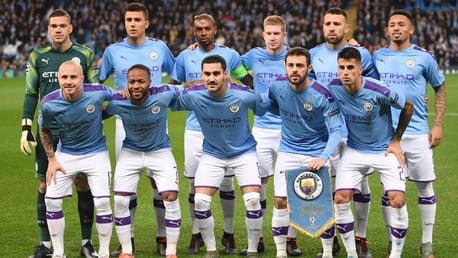 LINE-UP: The chosen starting XI...